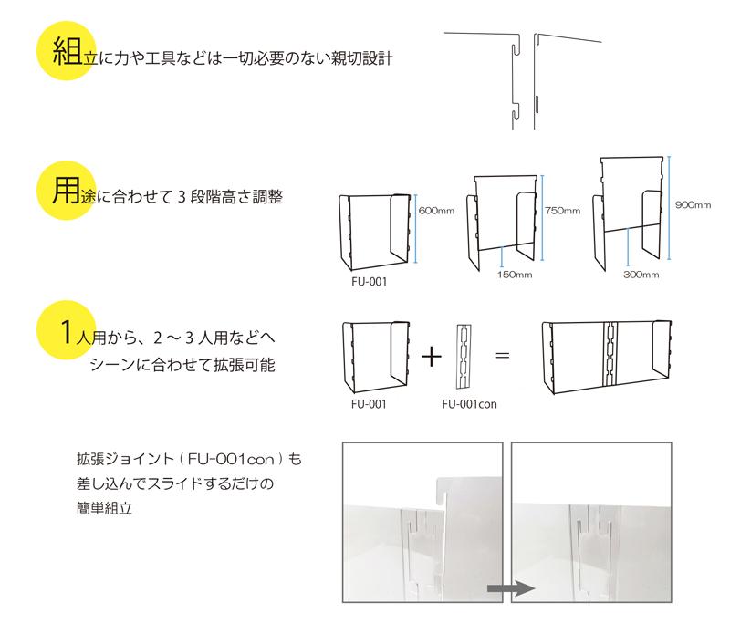 飛沫防止パネル説明02